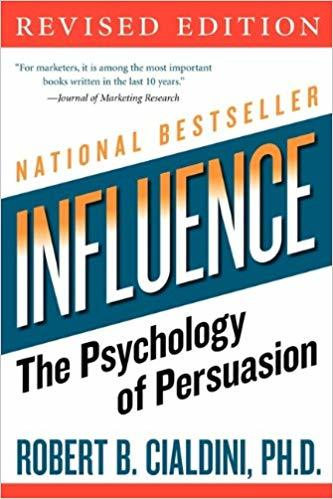 Cover of one of the best negotiation books - Influence by Robert Cialdini